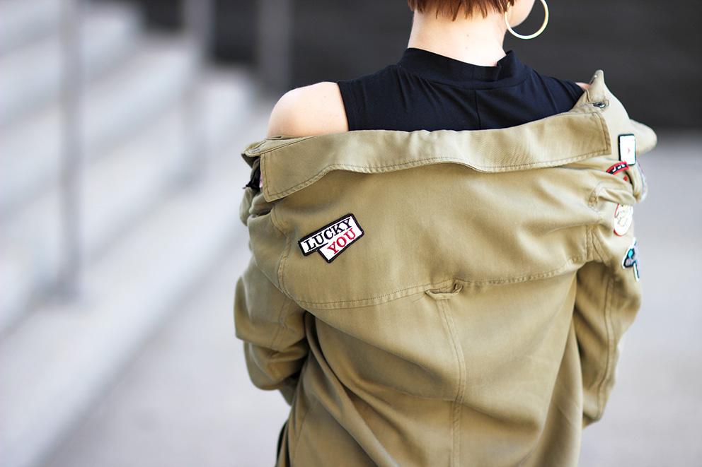 tendance chemise ecussons mode