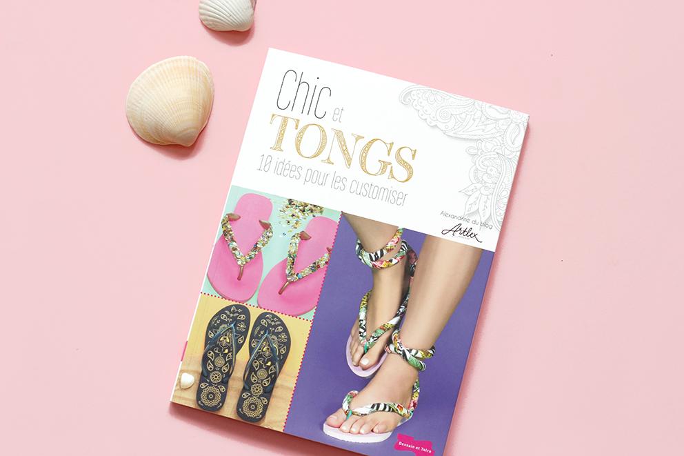 Chic et Tongs livre DIY artlex