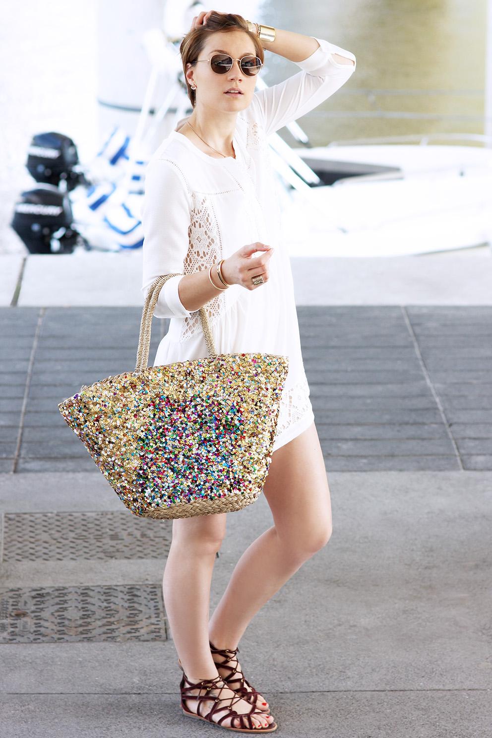 blogueuse mode lyon robe blanche