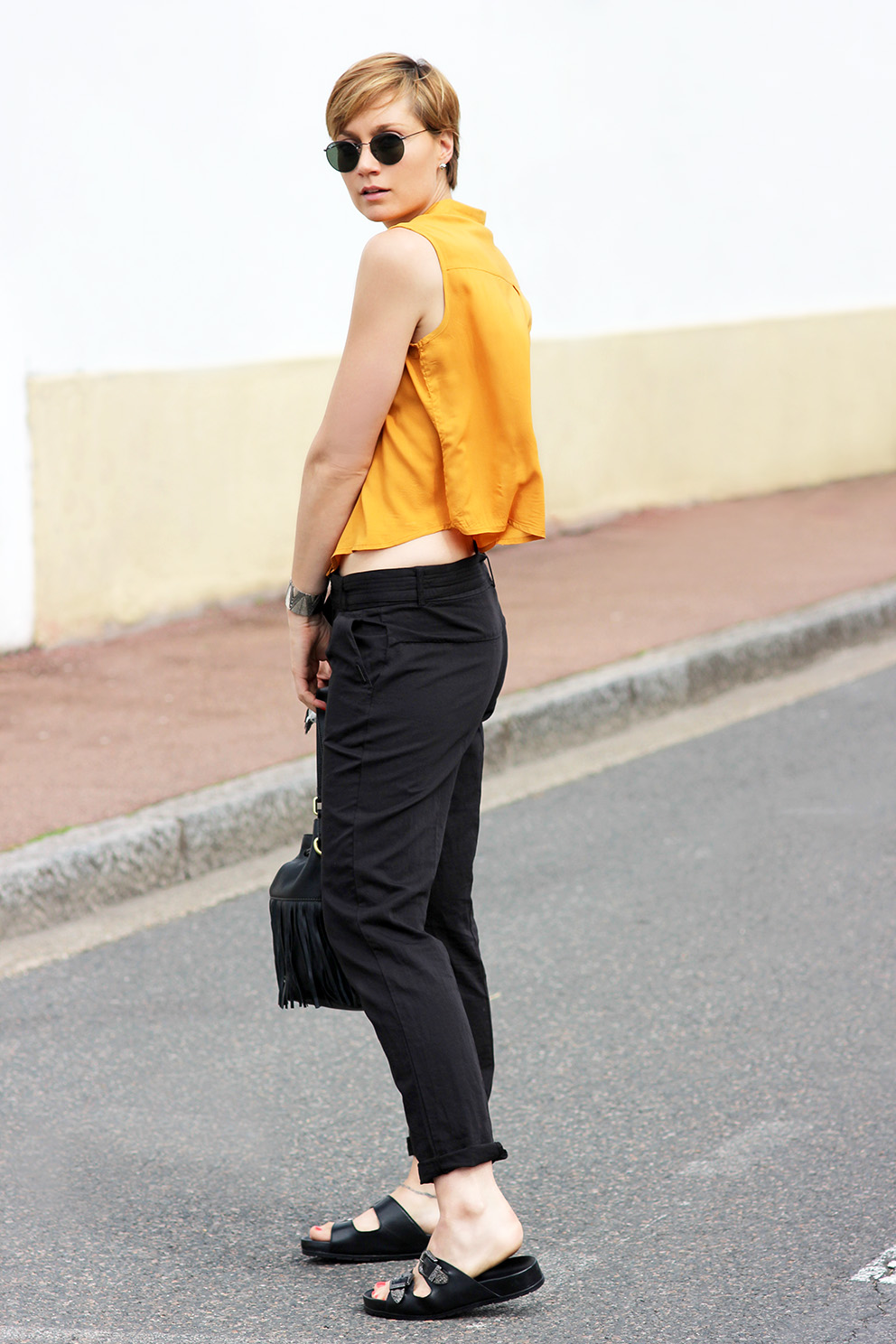 look pantalon One step blog Mode Artlex
