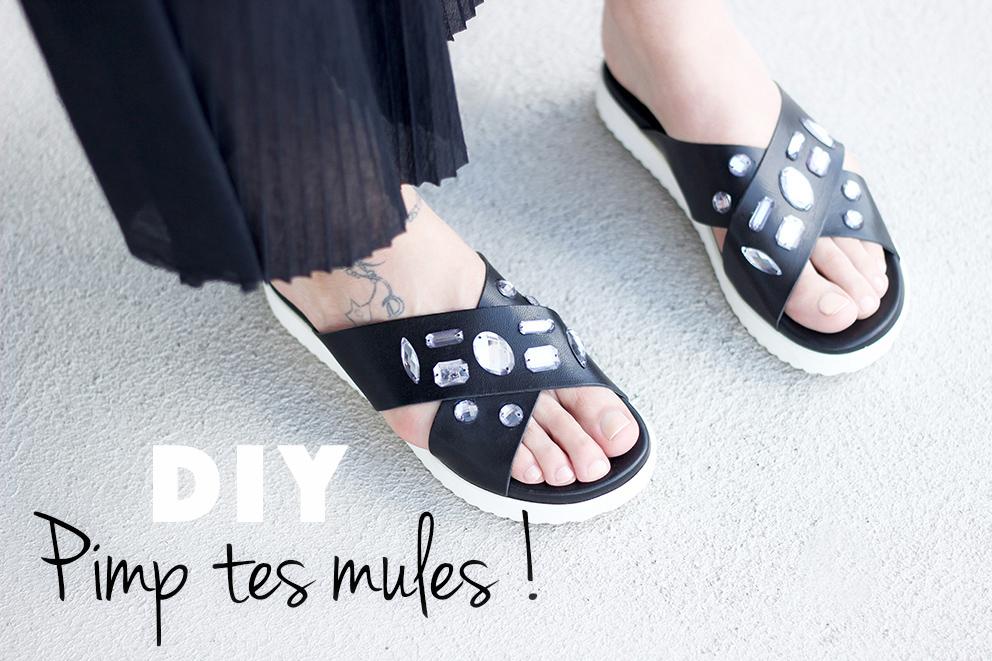 DIY mules bijoux blog artlex