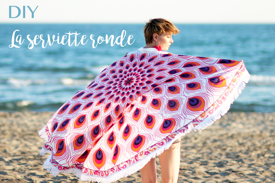 blog DIY serviette ronde Artlex