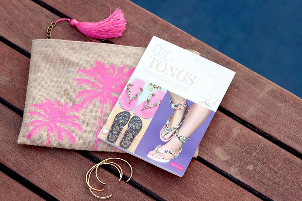 livre chic et Tongs blogueuse Artlex