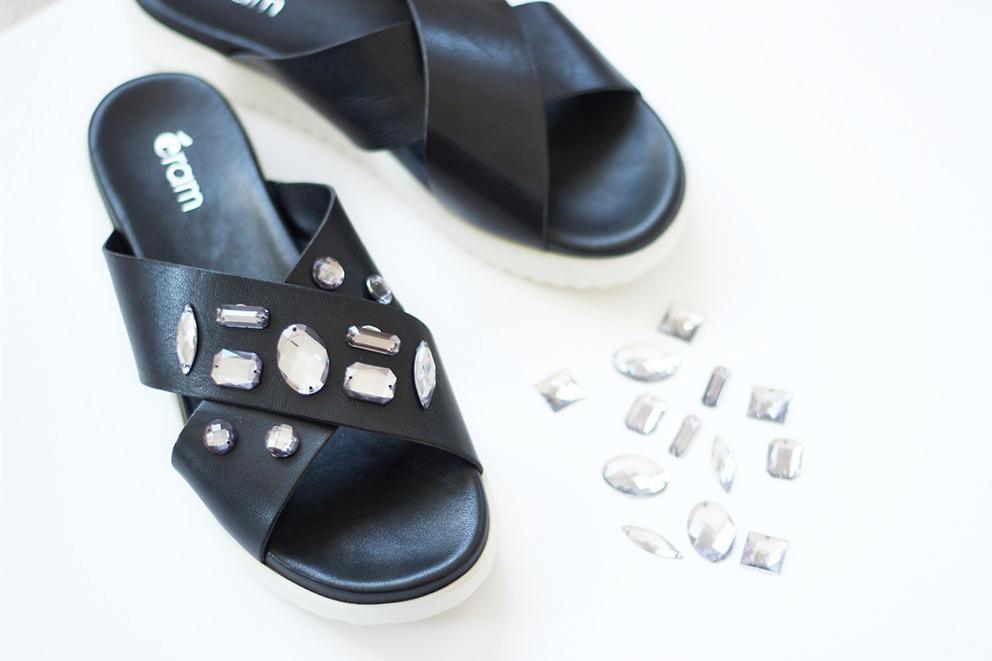 personnaliser ses sandales blog diy
