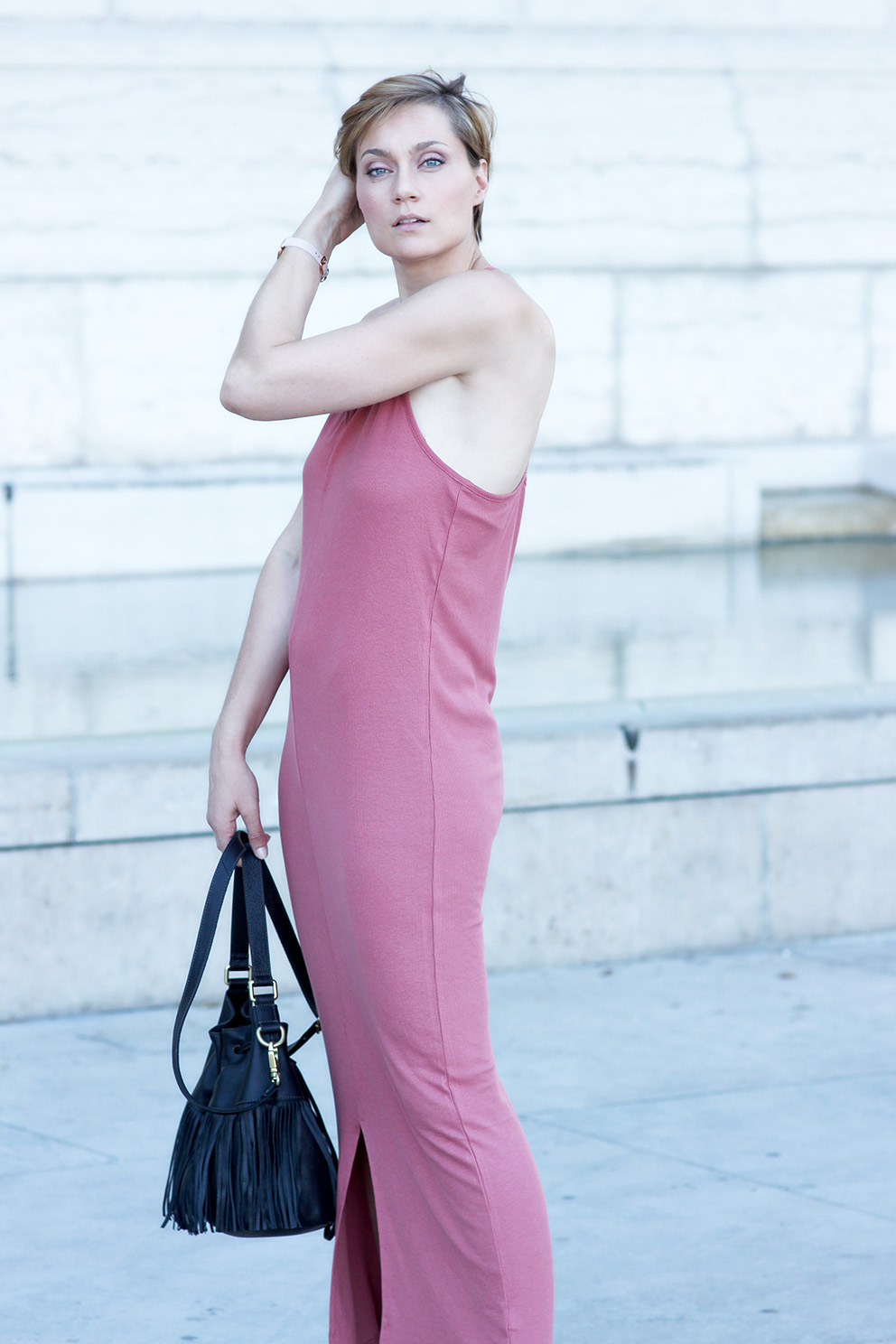 robe longue confortable