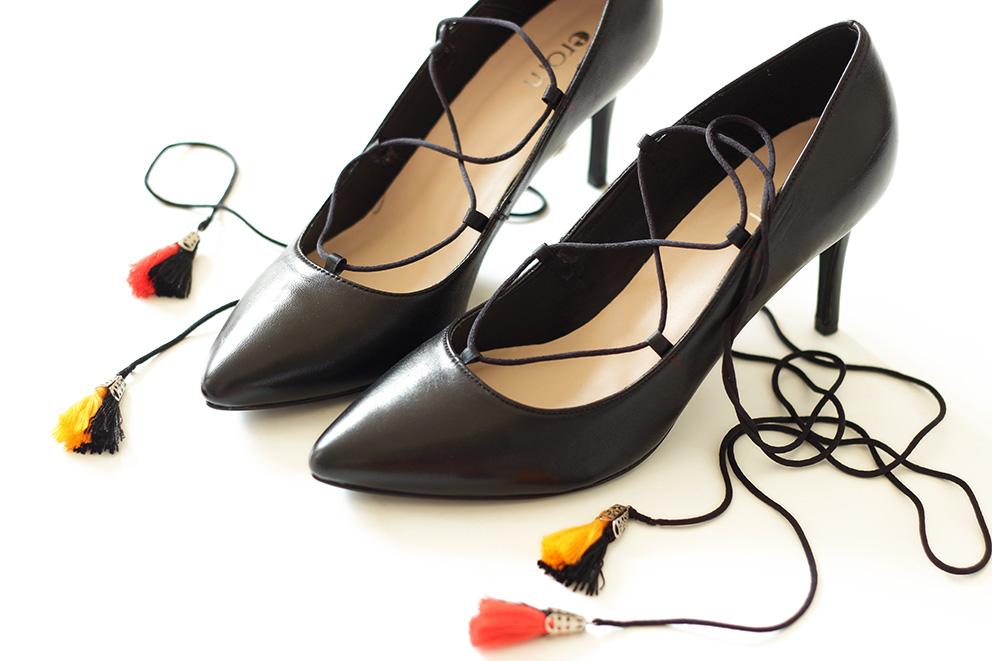 DIY chaussures à lacets