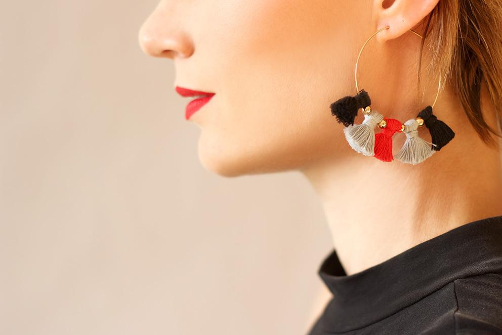 DIY boucles d'oreilles artlex