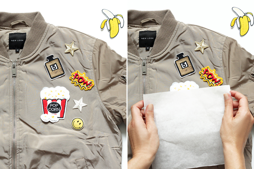 customiser un bomber avec ecussons