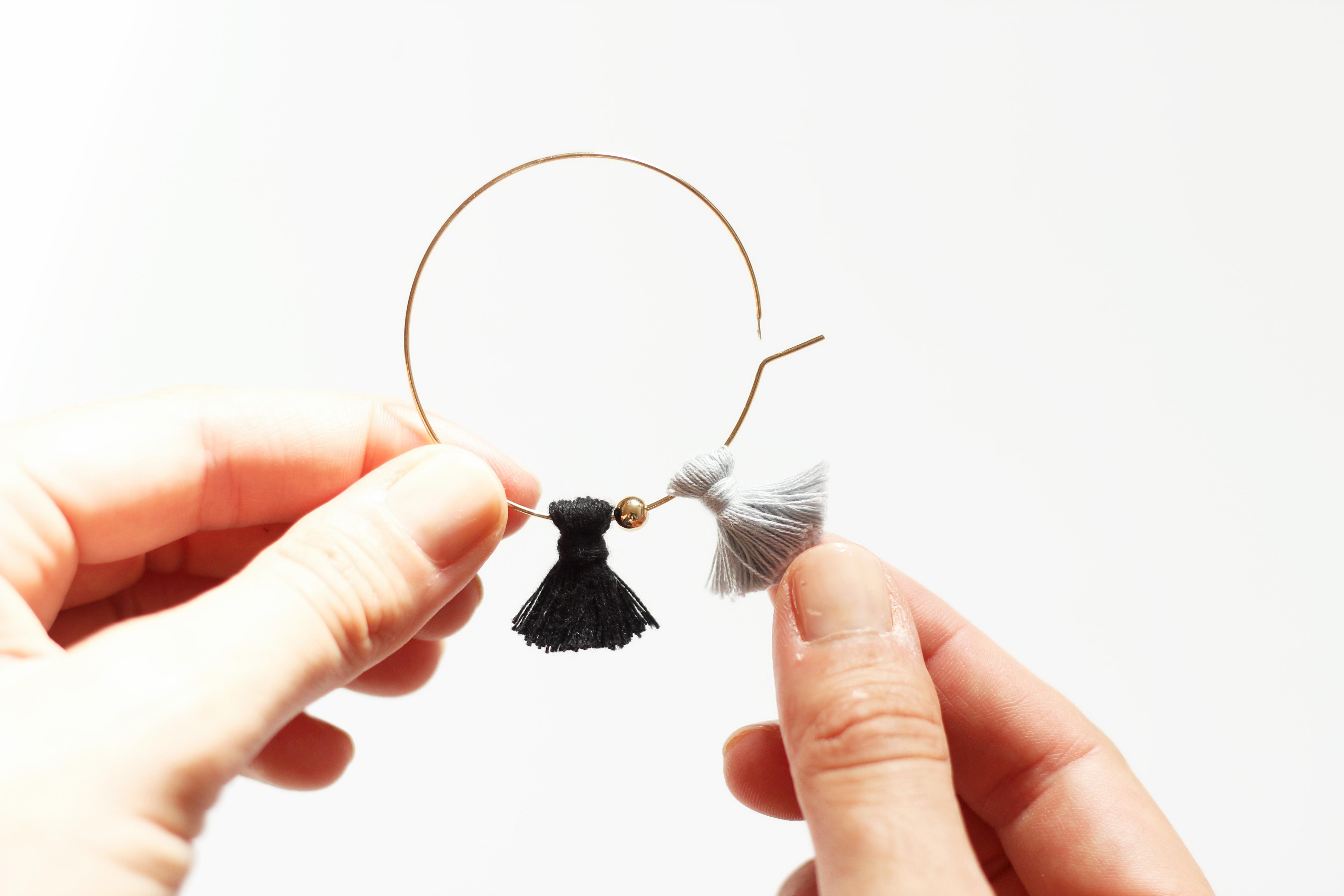 customiser une boucles d'oreilles