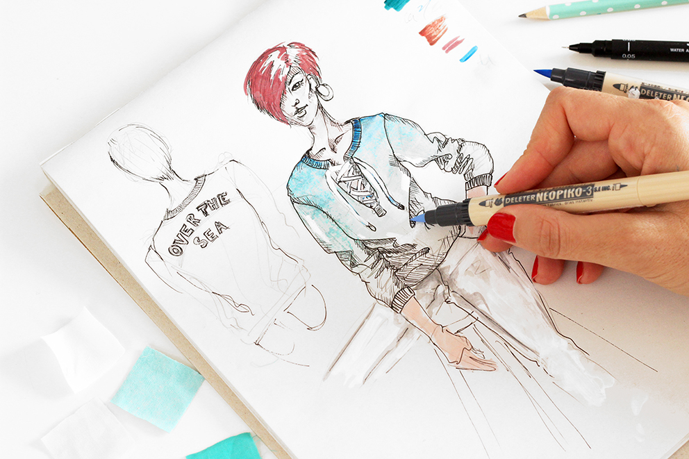 dessin-stylisme-lyon-bonobo-artlex