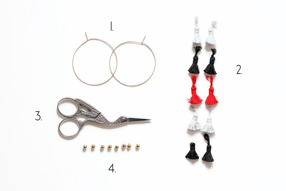 matériel DIY boucles d oreilles