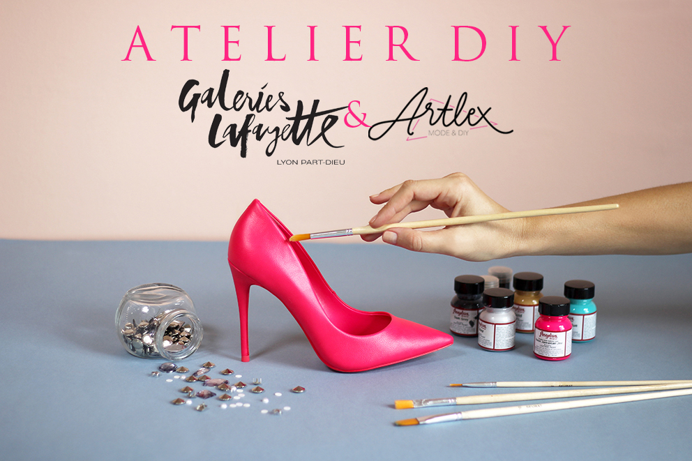 Atelier diy galeries lafayette lyon part dieu x artlex for Confo deco part dieu