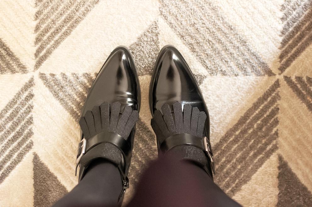 chaussures-a-franges-cuir