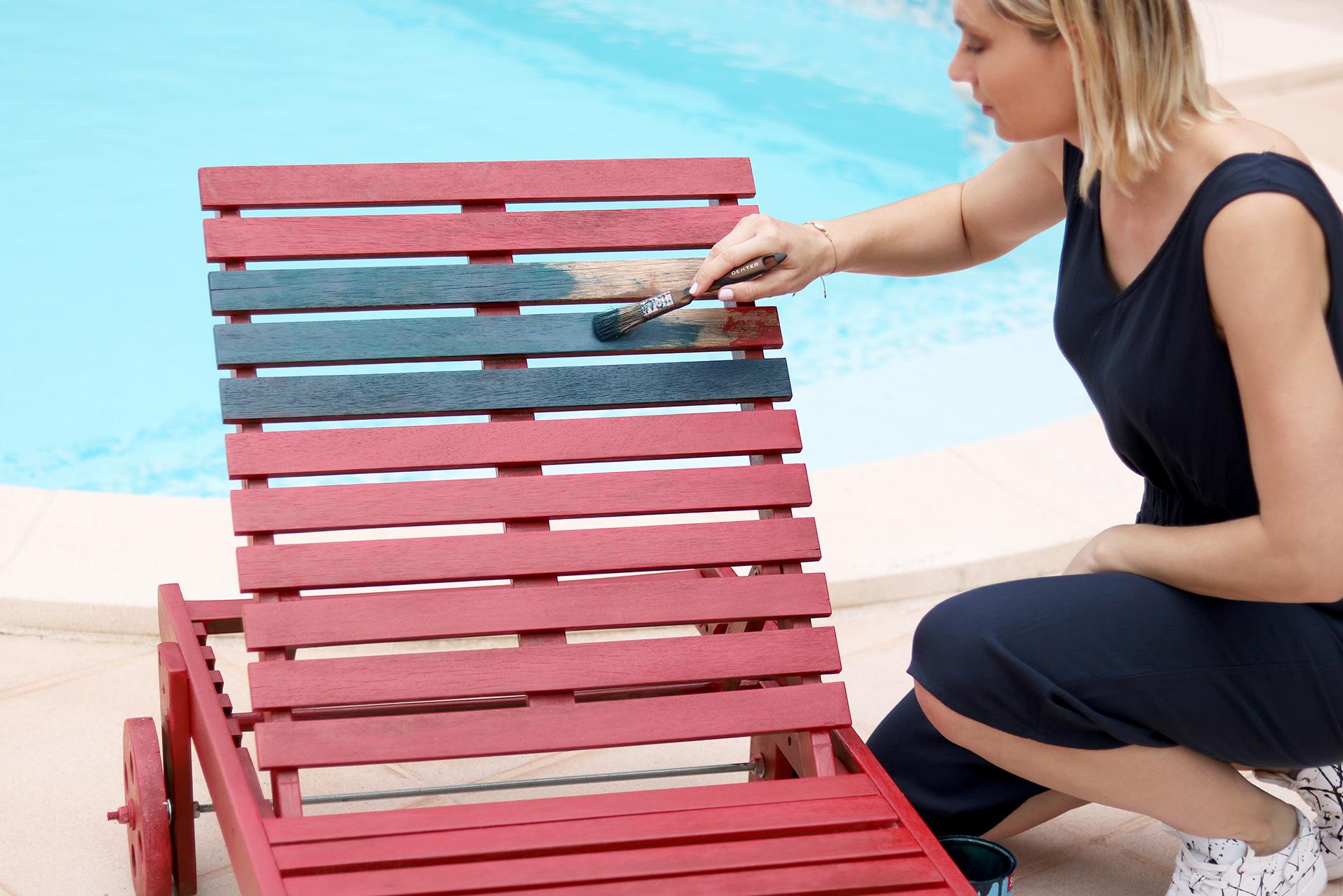 Comment Restaurer Une Chaise En Bois peinture pour bois syntilor / je viens chez vous faire un