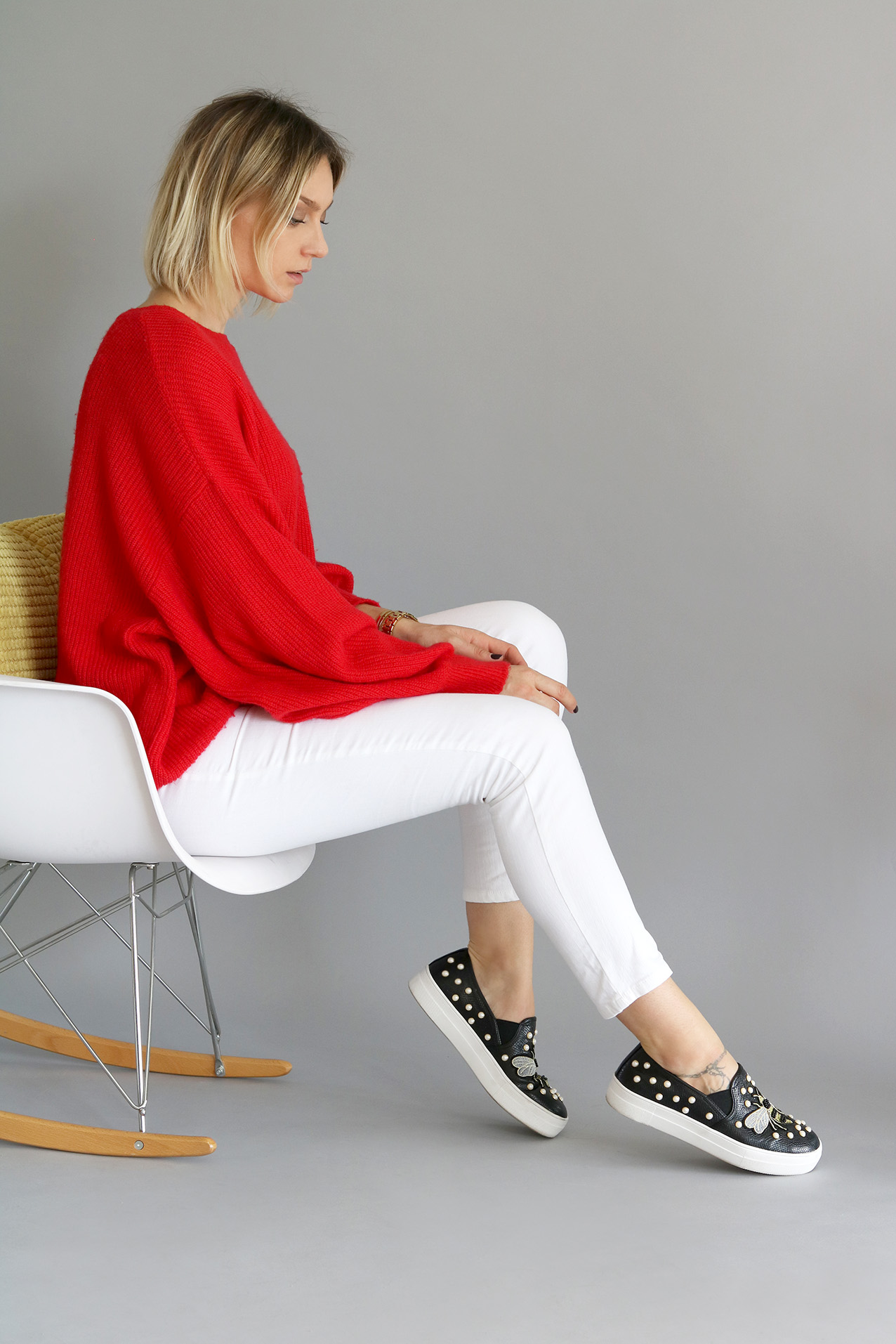 Look-pull-rouge-oversize