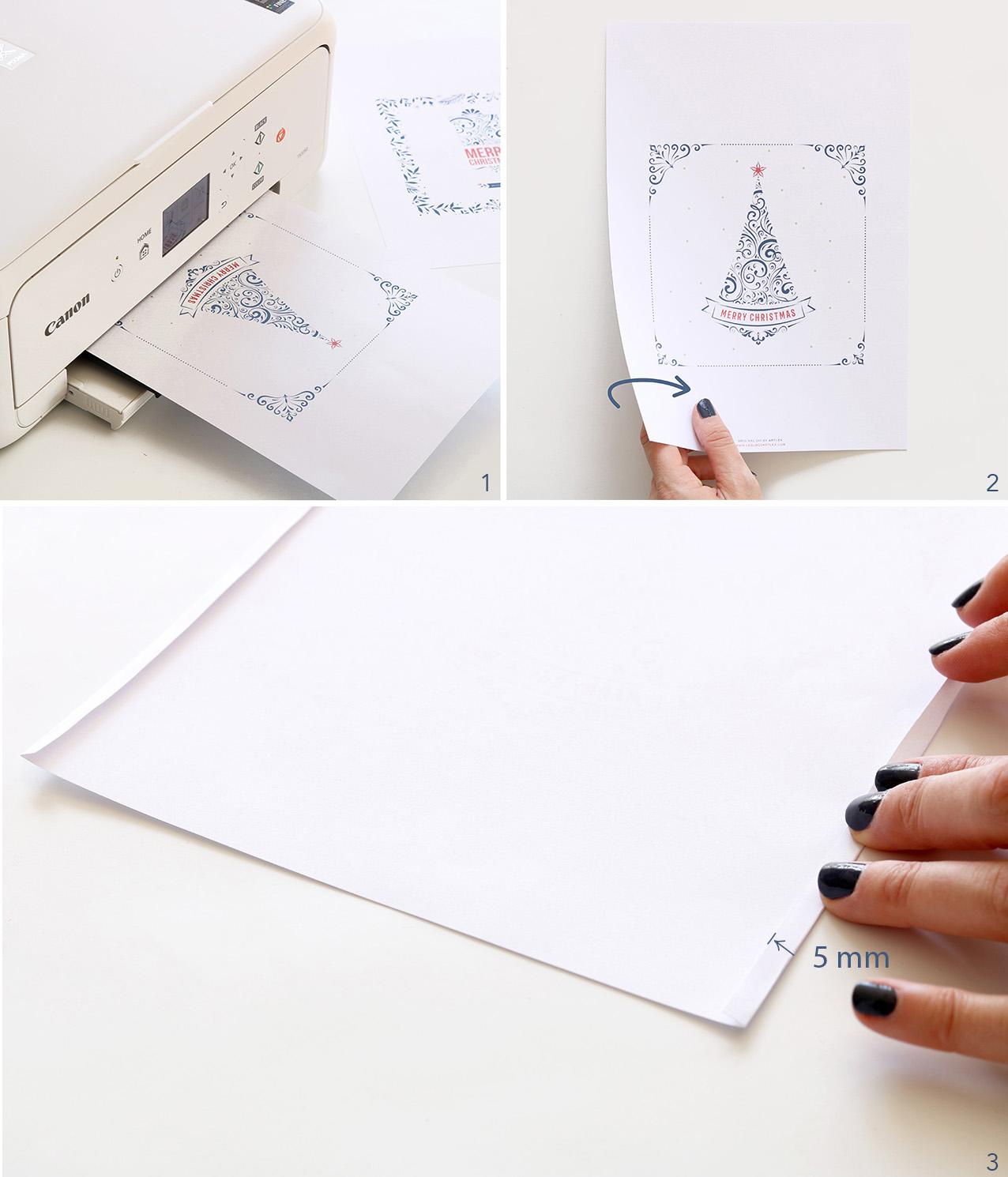 faire une pochette cadeau en papier fashion designs. Black Bedroom Furniture Sets. Home Design Ideas