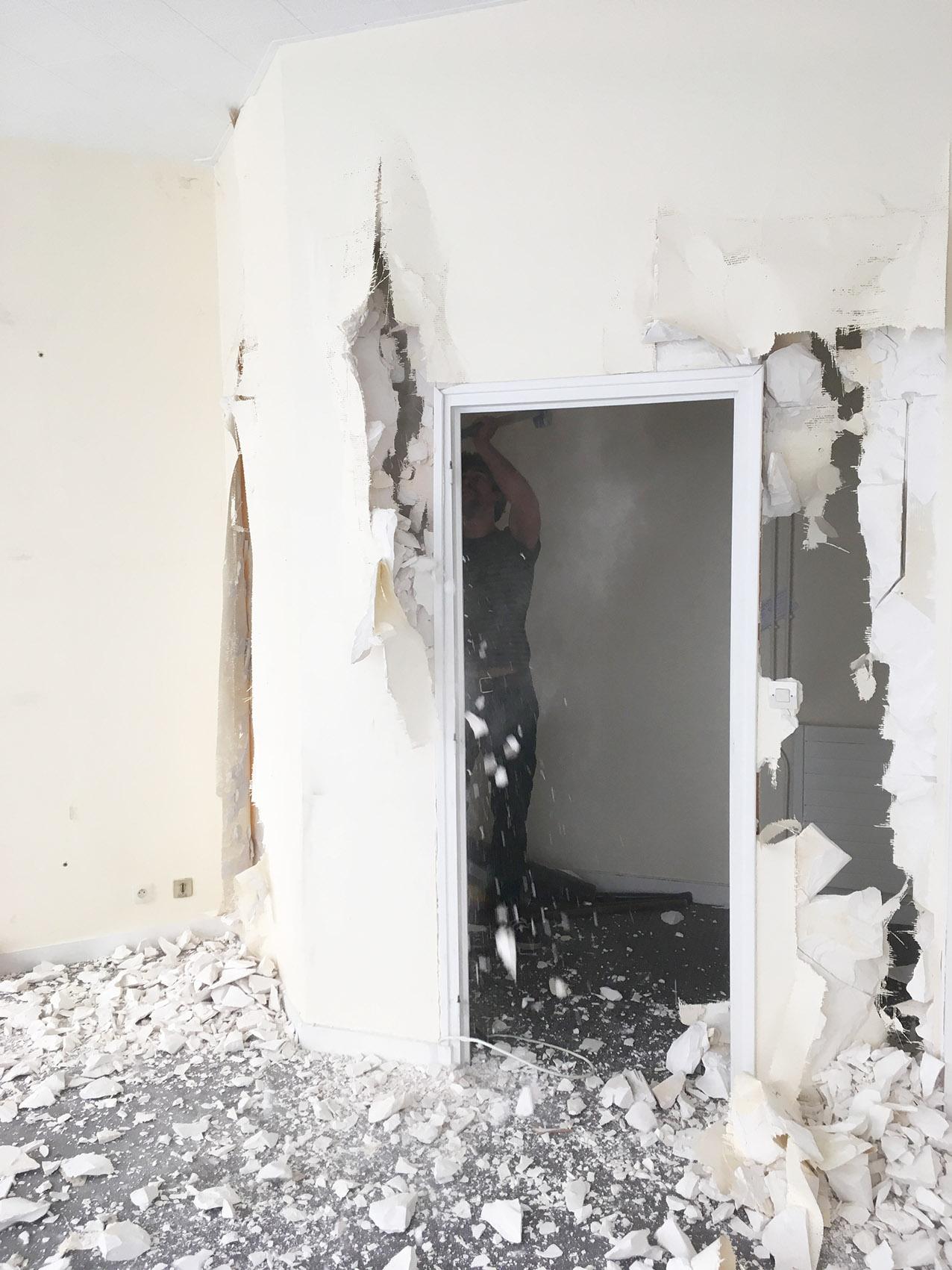 demollir une maison