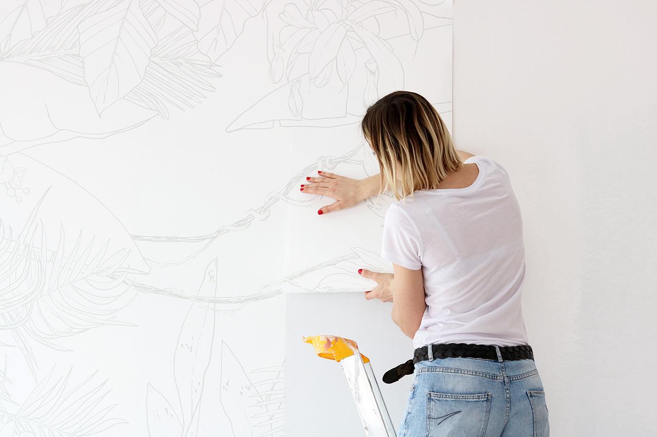comment poser un papier peint