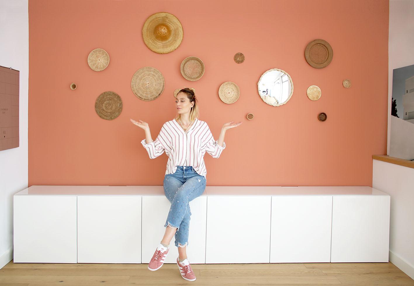 decorer-mur-panier-rotin-DIY