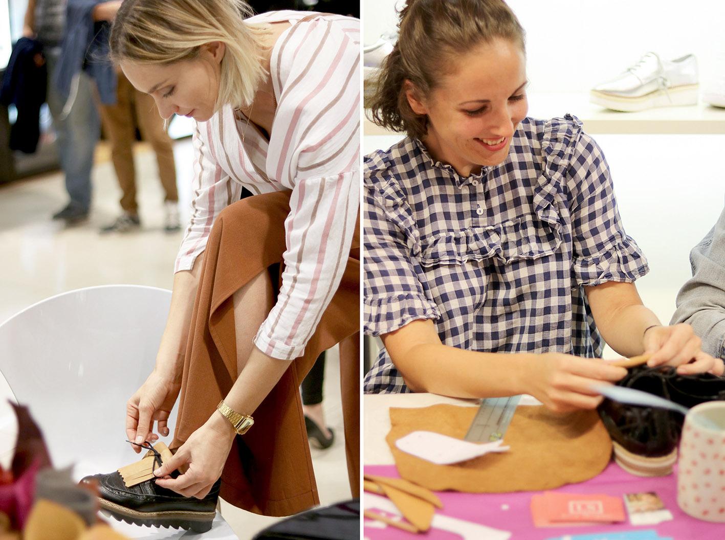 atelier-DIY chaussures-galeries-lafayette-2