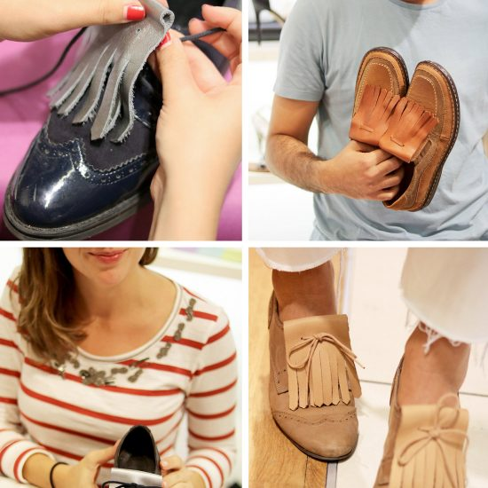 atelier-DIY chaussures-galeries-lafayette