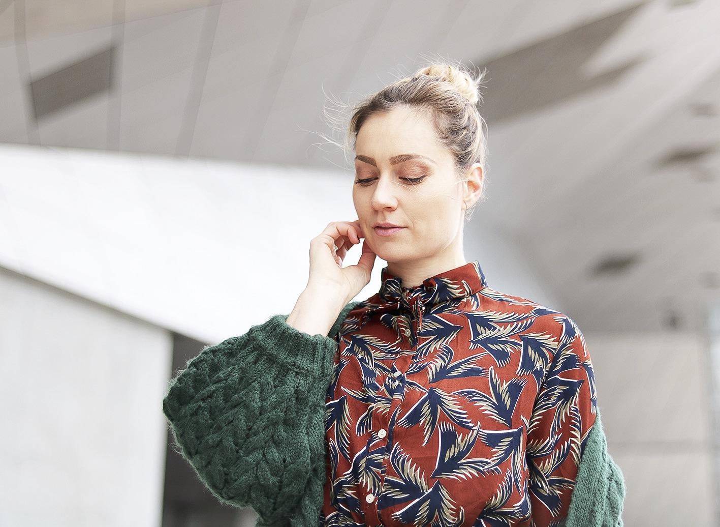 robe-a-motif-vintage