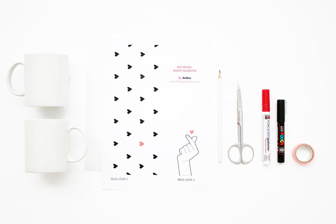 materiel-DIY-mug