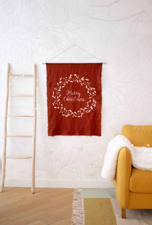 DIY décoration murale de Noël