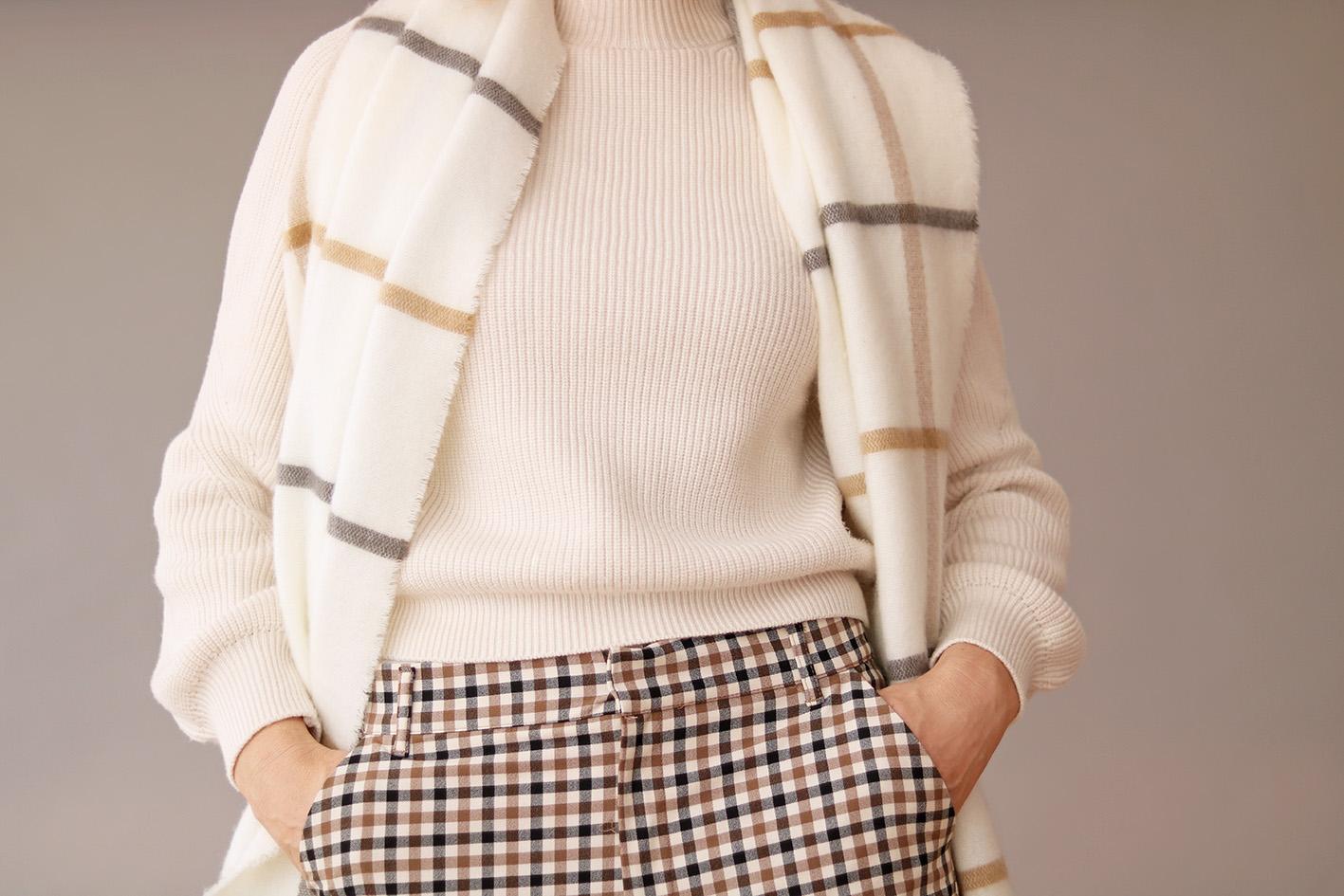 echarpe-à-carreau-mode-2019