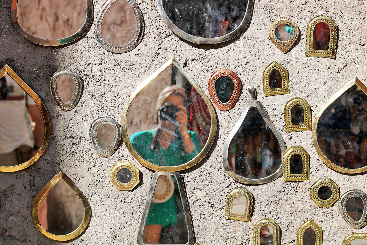petit-miroir-metal-frappe-marocain