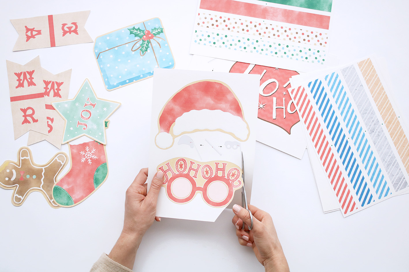Christmas-DIY-photobooth-idea