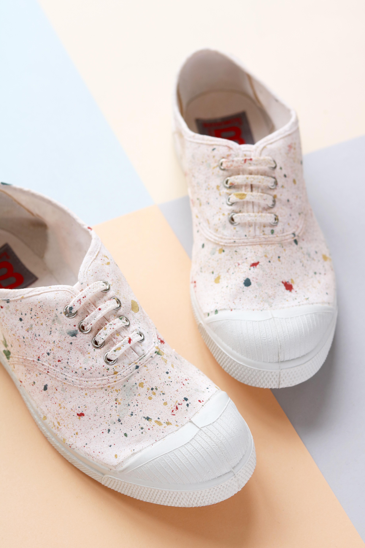 DIY Chaussures Terrazzo
