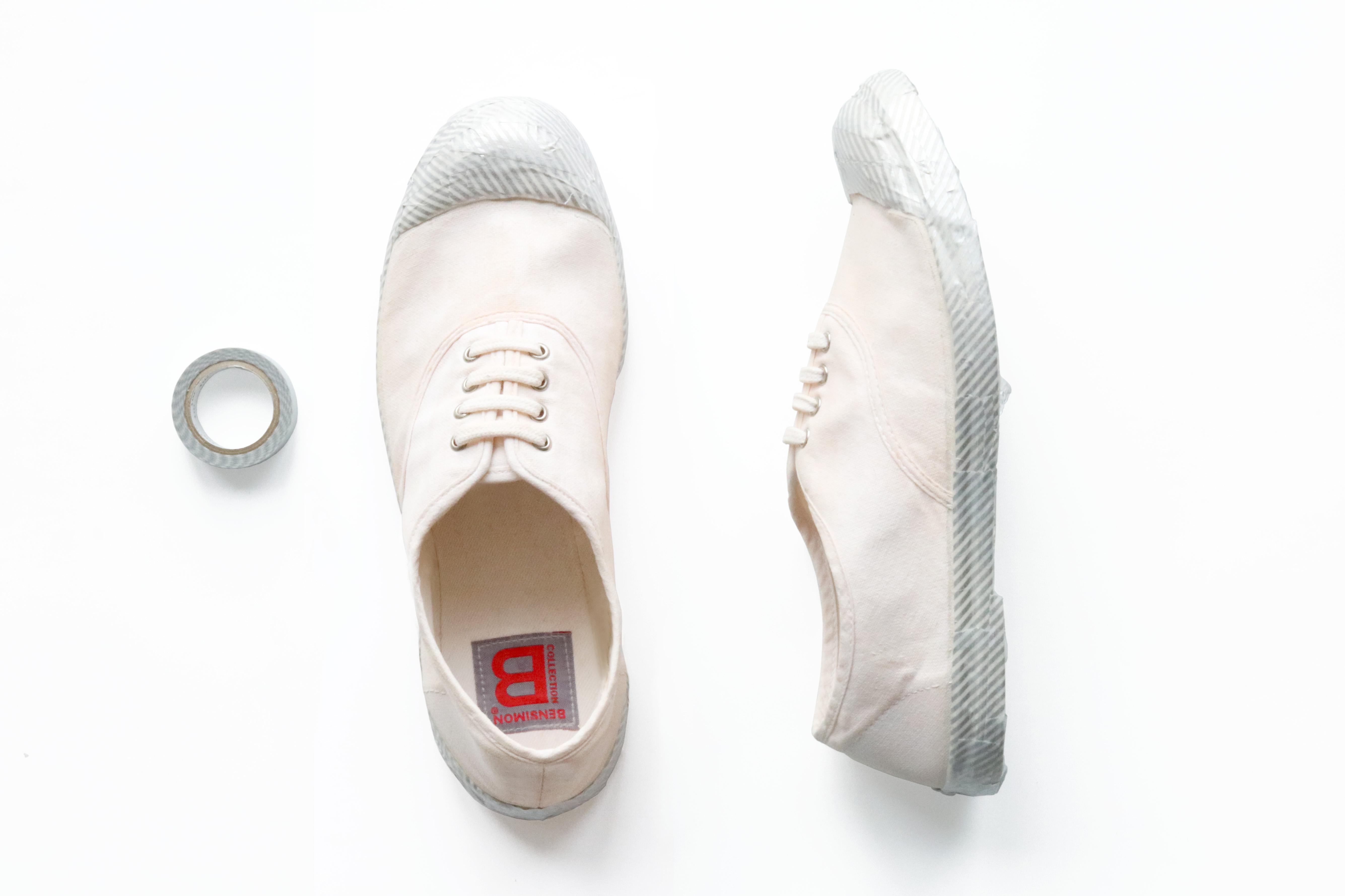 DIY-tennis-blanche-bensimon