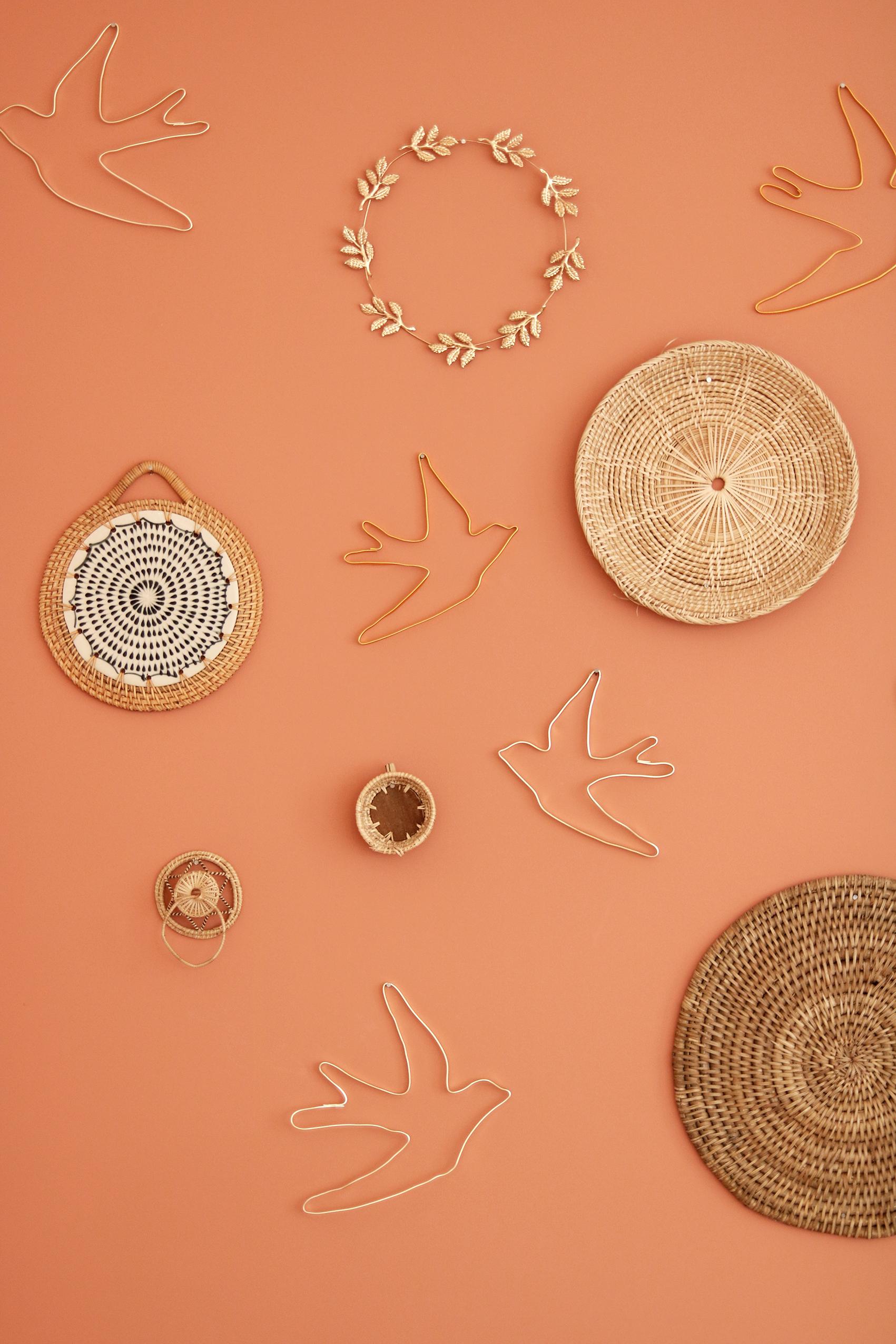 decoration-hirondelles-fil-metal