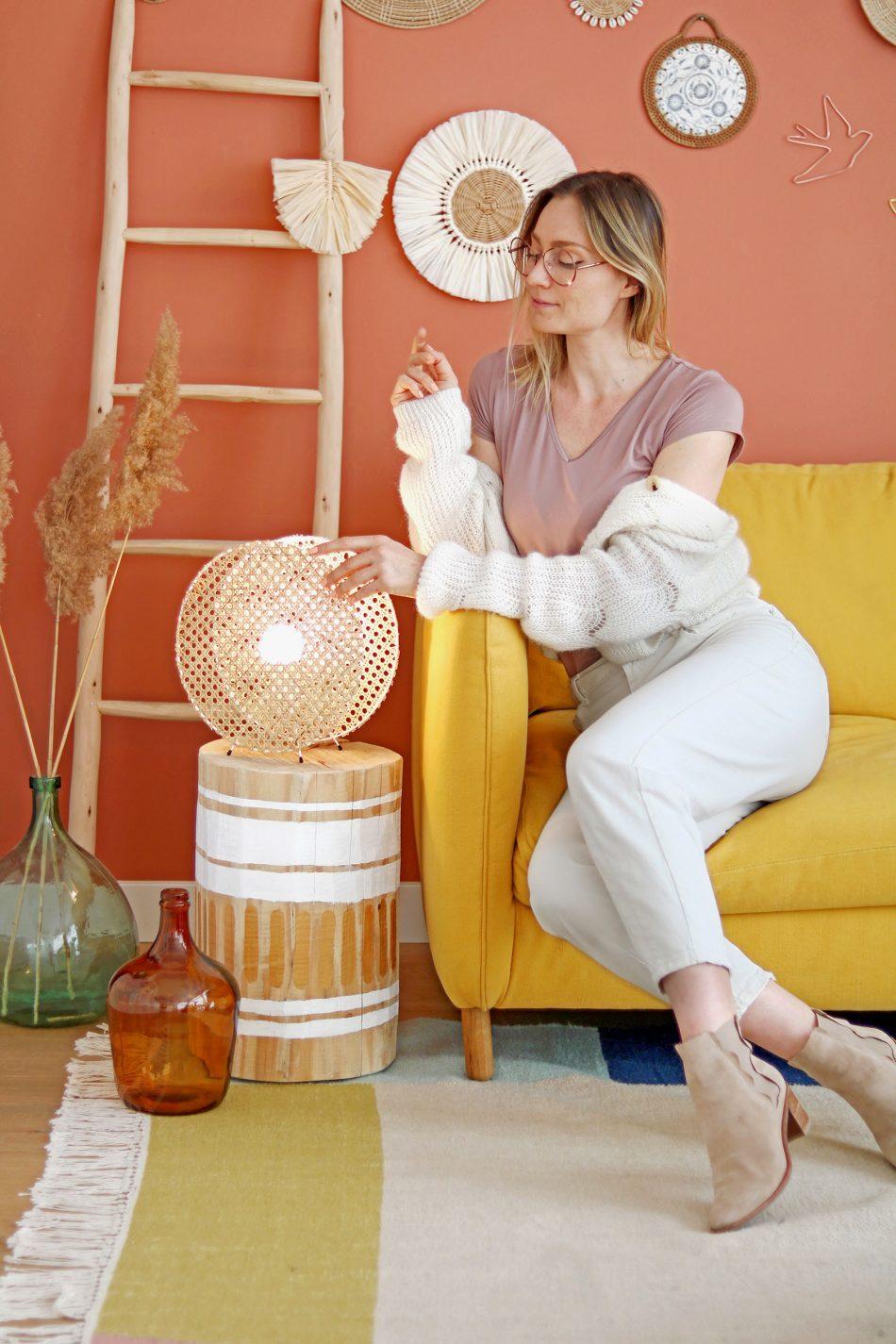 customiser-lampe-avec-cannage-pour-deco